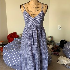 J crew gingham dress. New with out tags